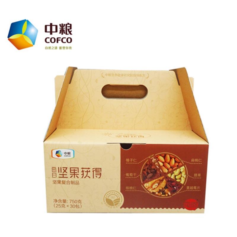 屯河 中粮混合坚果每日坚果获得750克(25克*30包)坚果礼盒