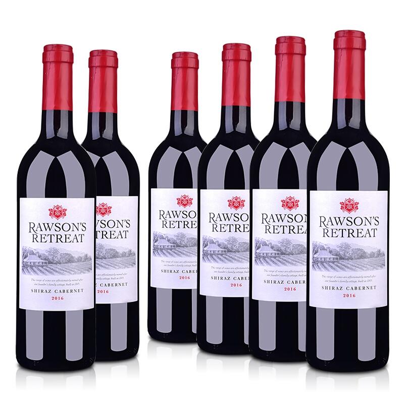 奔富 洛神山庄 西拉赤霞珠 干红葡萄酒 750ml*6瓶整箱