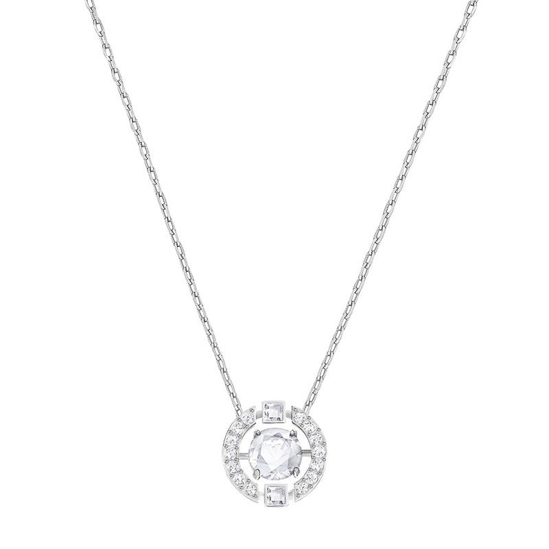 Swarovski 施华洛世奇 Sparkling Necklace锁骨链心跳项链 5286137