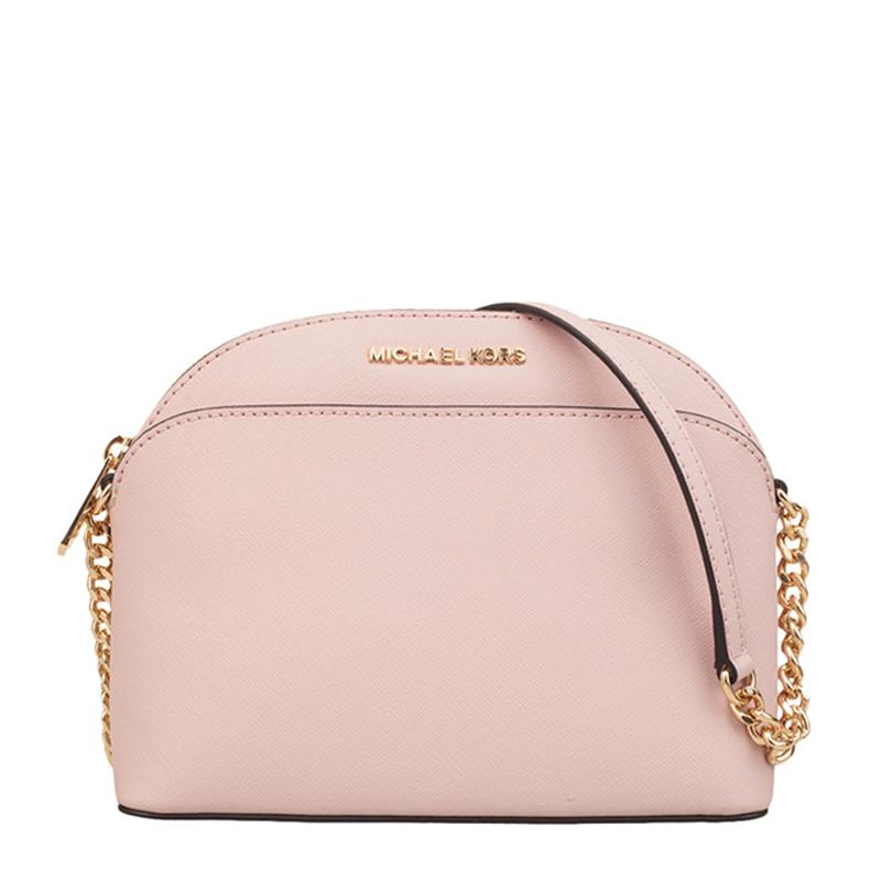 Michael Kors 迈克·科尔斯 女士粉色皮革单肩包斜挎包 35H7GY3C2L-blossom