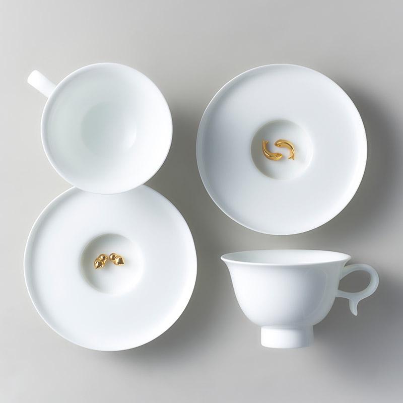 Zens | 有米 有余   下午茶咖啡茶杯碟一对 礼盒