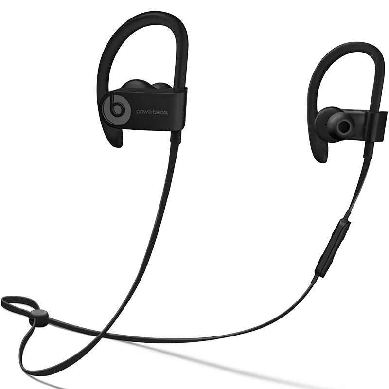 Beats Powerbeats3 by Dr. Dre Wireless无线蓝牙运动入耳式耳机 黑色