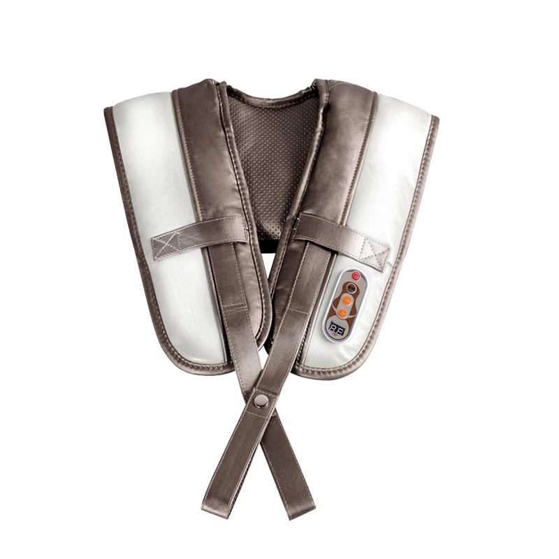 泰昌 TC-Q005 捶打按摩披肩 腰部颈椎按摩器 颈肩乐捶背器 浅灰色