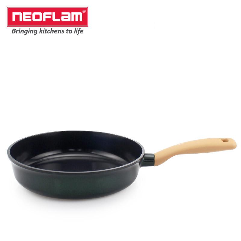 Neoflam26cm煎锅(绿黄玉色)