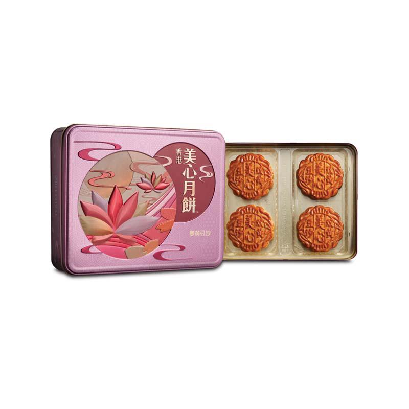 美心双黄豆沙月饼 185g*4