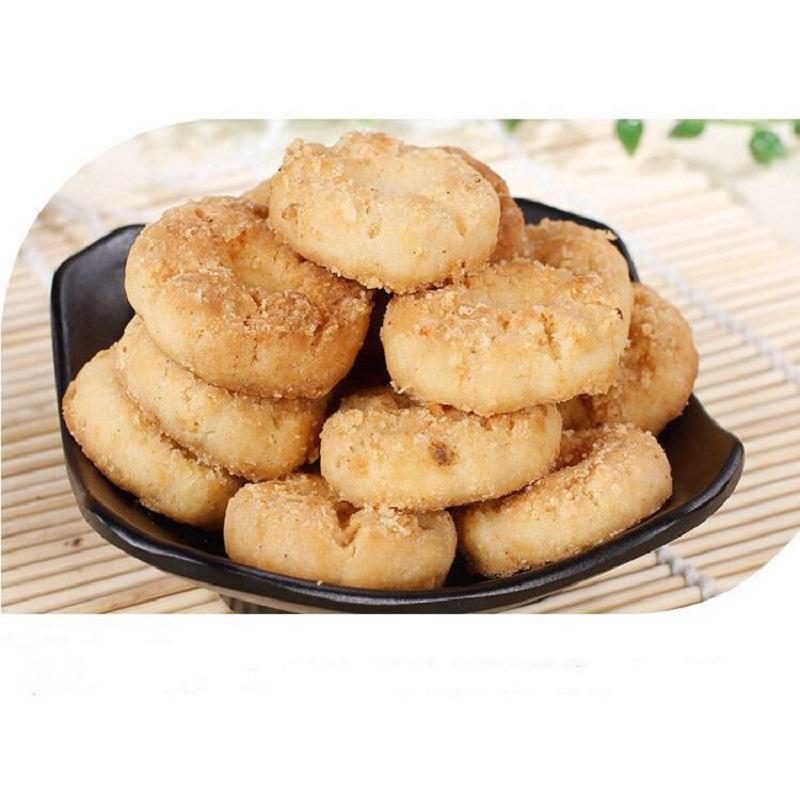 奶油小桃酥 草湖食品 休闲零食特色小吃传统糕点 袋装250g*2包