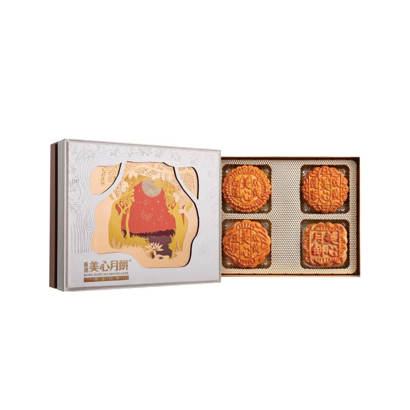 中秋献礼 - 美心四色彩月月饼