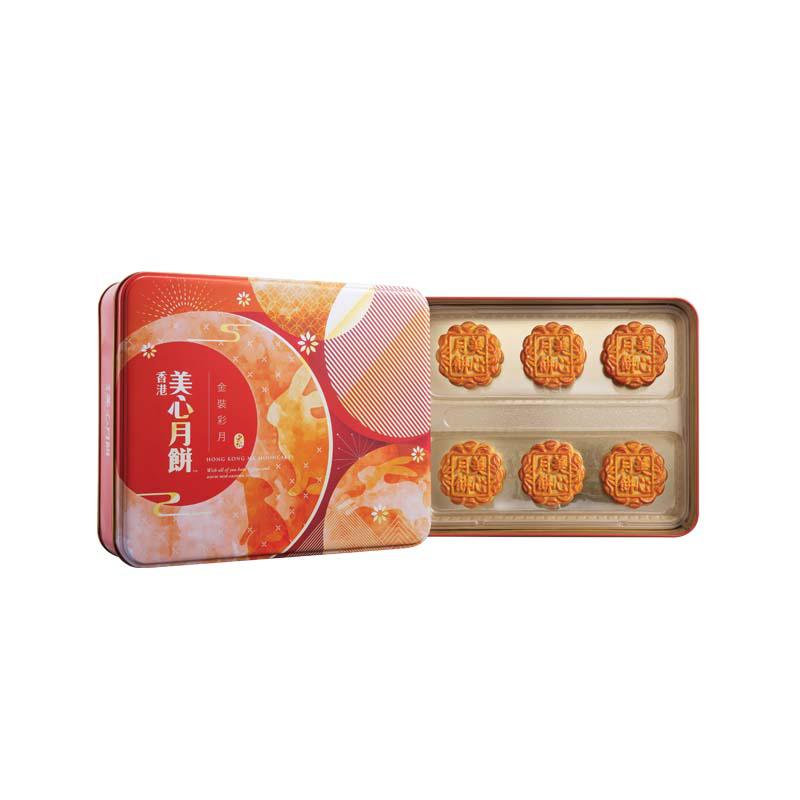 中秋献礼 - 美心金装彩月礼盒月饼