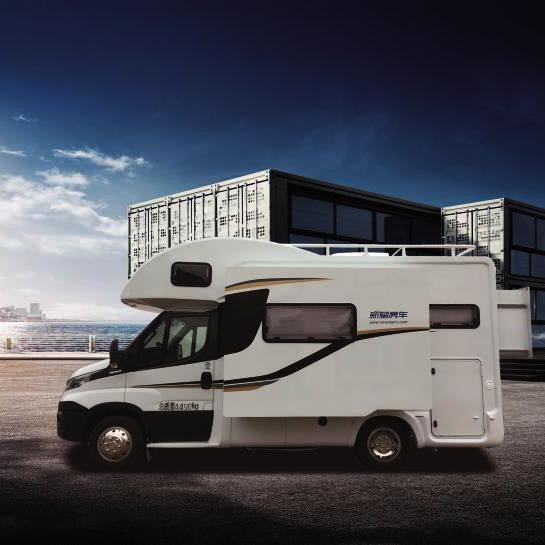 新星罗马假日系列C型房车双扩展(C600K2)