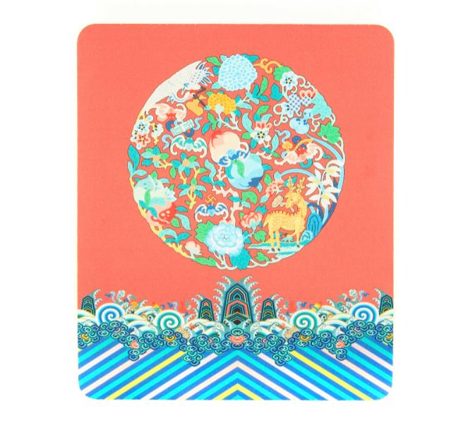 故宫宫廷文化|玩闹智造 鼠标垫小号 无边(厚3mm)光面