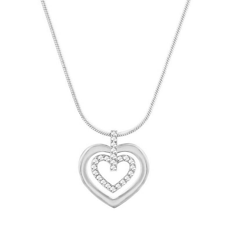 Swarovski/施华洛世奇 Circle Heart心形链坠 5113776