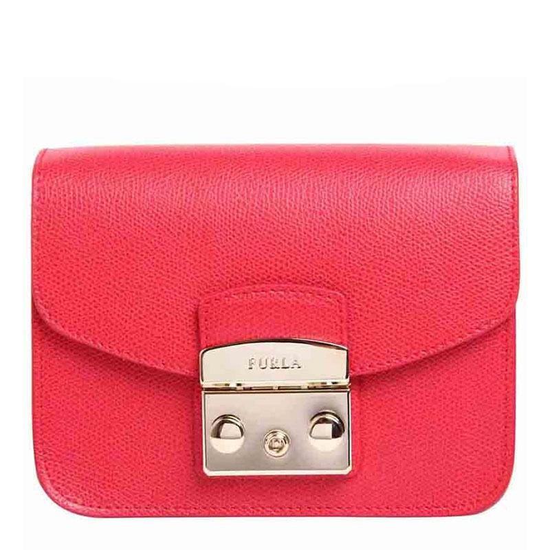FURLA/芙拉 女士 单肩斜挎小猪锁头包 链条包 851170