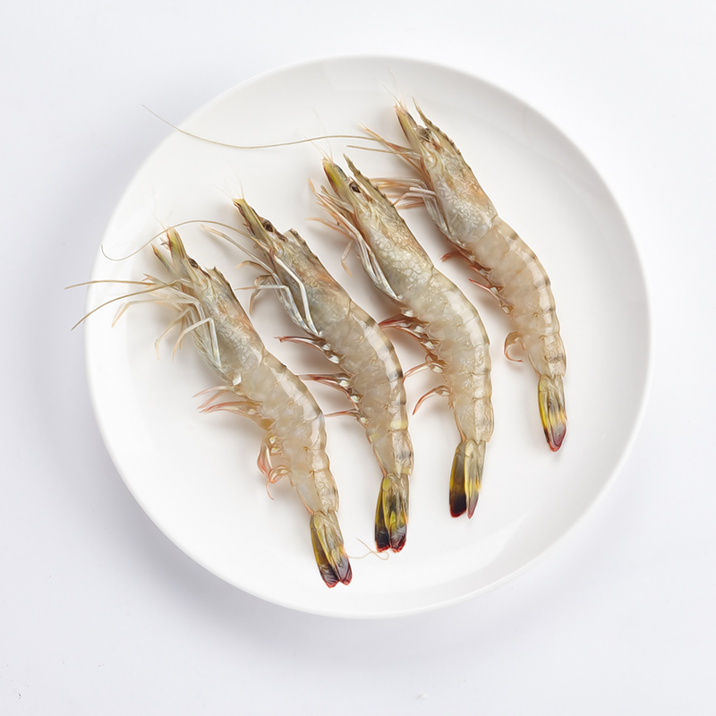 马达加斯加黑虎虾 600g/盒