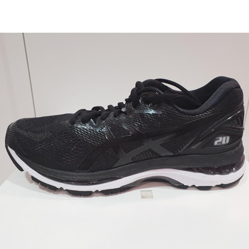 ASICS亚瑟士女鞋2018新款GEL-NIMBUS 20 缓冲跑步鞋运动跑鞋9001