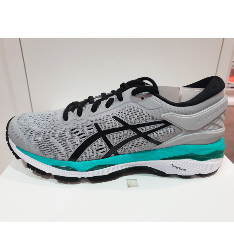 亚瑟士女鞋 2018春夏新款 GEL-KAYANO 24 稳定跑鞋透气跑步鞋耐磨运动鞋女 9690