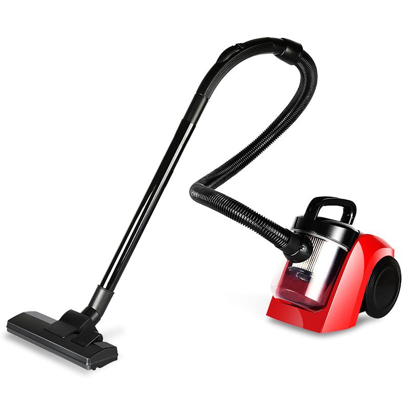 艾贝丽吸尘器XY-1008大功率吸尘器 卧式吸尘器家用大功率大吸力多种吸嘴红色