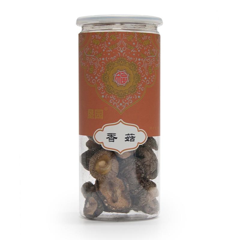 垦园 山珍菌菇 东北香菇 80g/罐 两罐装
