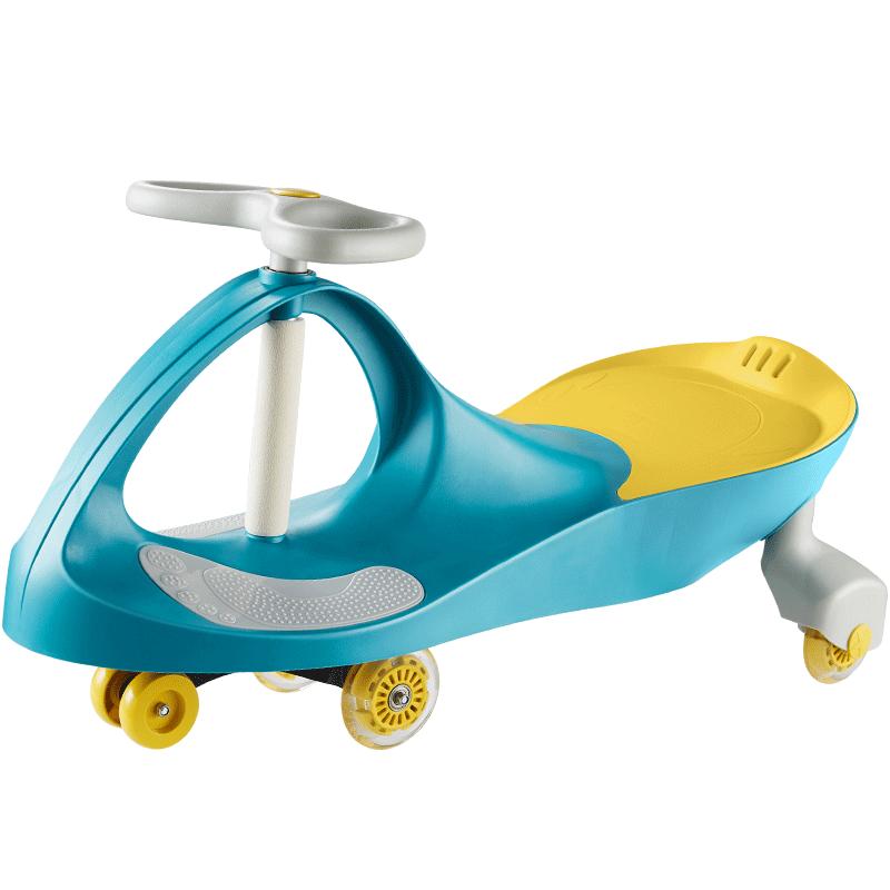 可优比(KUB)扭扭车宝宝玩具滑行万向轮儿童车溜溜车1-3-6岁妞妞摇摆车洛菲紫