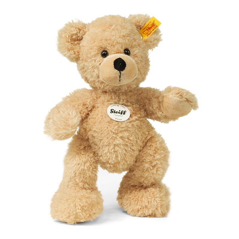 德国Steiff毛绒玩具Fynn泰迪熊米色 28cm 4001505111327
