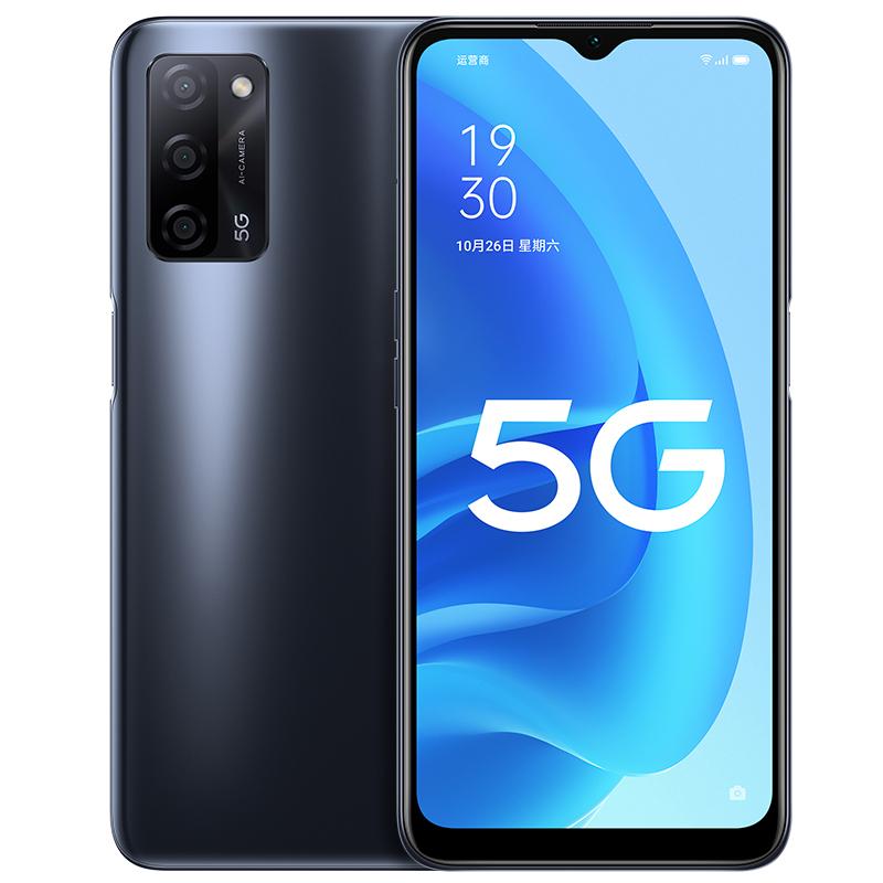 OPPO A55 5G 5000mAh超大电池 天玑700双模5G 亿级像素超清画质 全网通全面屏拍照美颜游戏智能手机