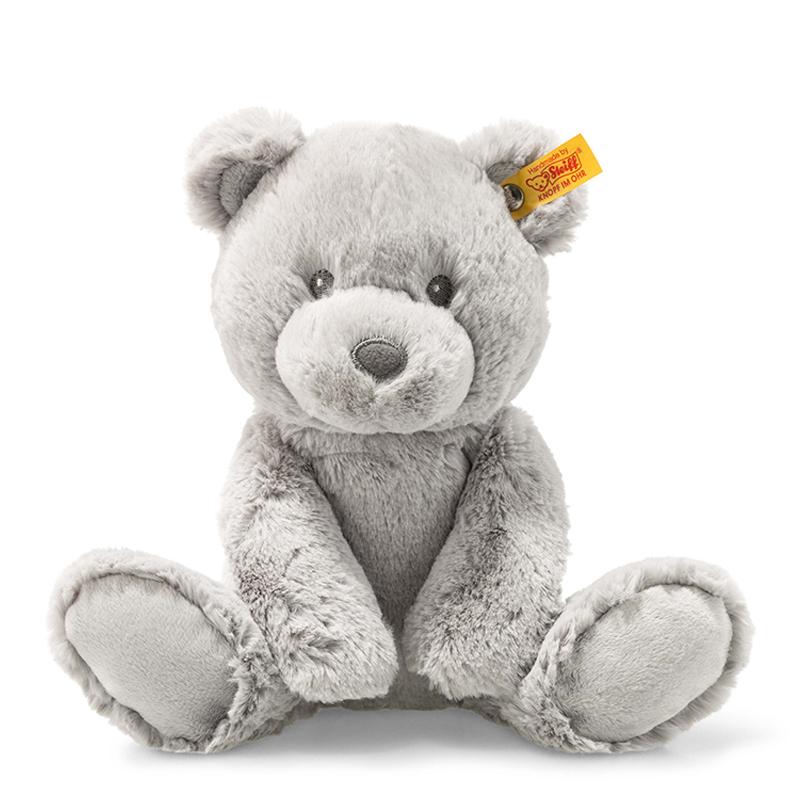 德国Steiff毛绒玩具Bearzy泰迪熊灰色 28cm 4001505241543