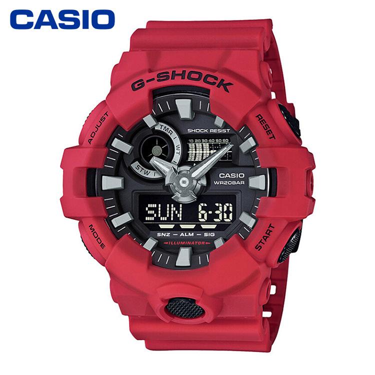 CASIO卡西欧GA-700系列G-SHOCK防水运动时尚男表