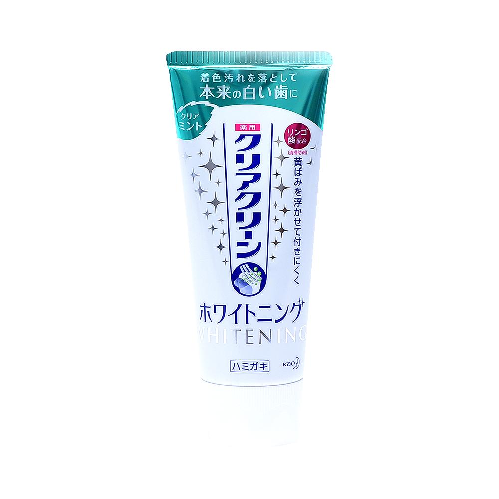KAO 花王 CLEAR CLEAN美白牙膏 薄荷香型 120g