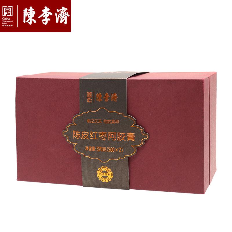 陳李濟 陳皮紅棗阿膠膏禮盒裝520g(260g*2)