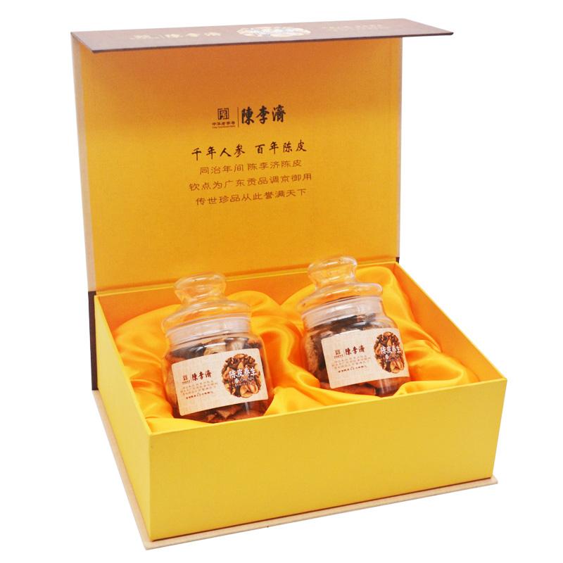 陳李濟 十年陳皮禮盒裝35gx2 正宗新會陳皮