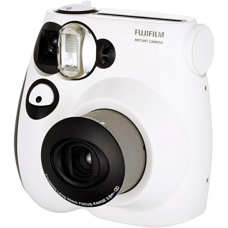 富士(FUJIFILM)INSTAX 一次成像相机 MINI7s相机:黑白熊猫版