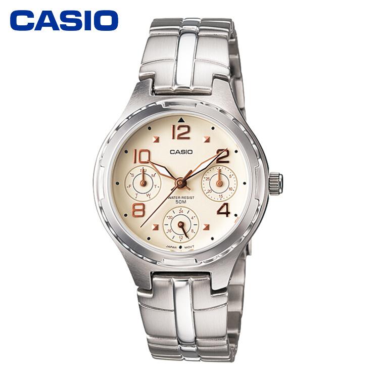 CASIO卡西欧LTP-2064系列大众指针休闲时尚优雅女表