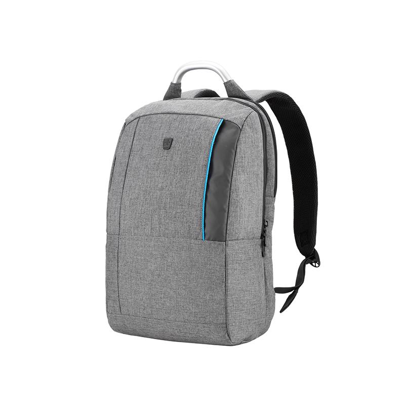 瑞动休闲时尚双色麻布商务电脑背包MT-5960 -14T00 灰色