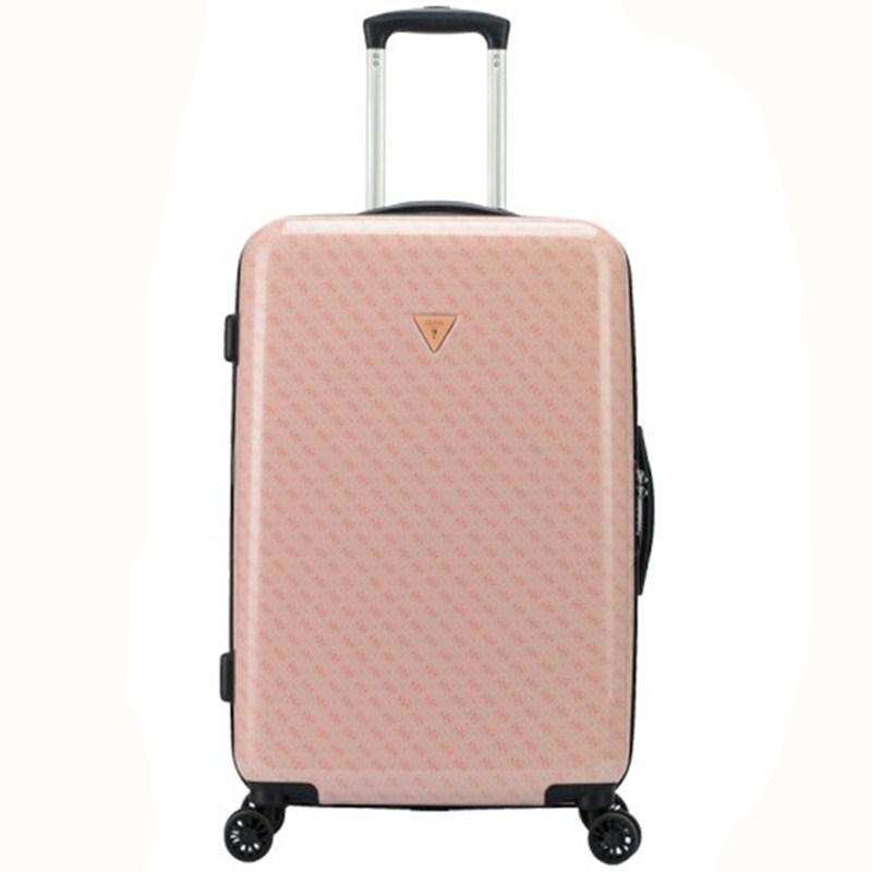 GUESS盖尔斯 8轮粉色VIVIN拉杆箱