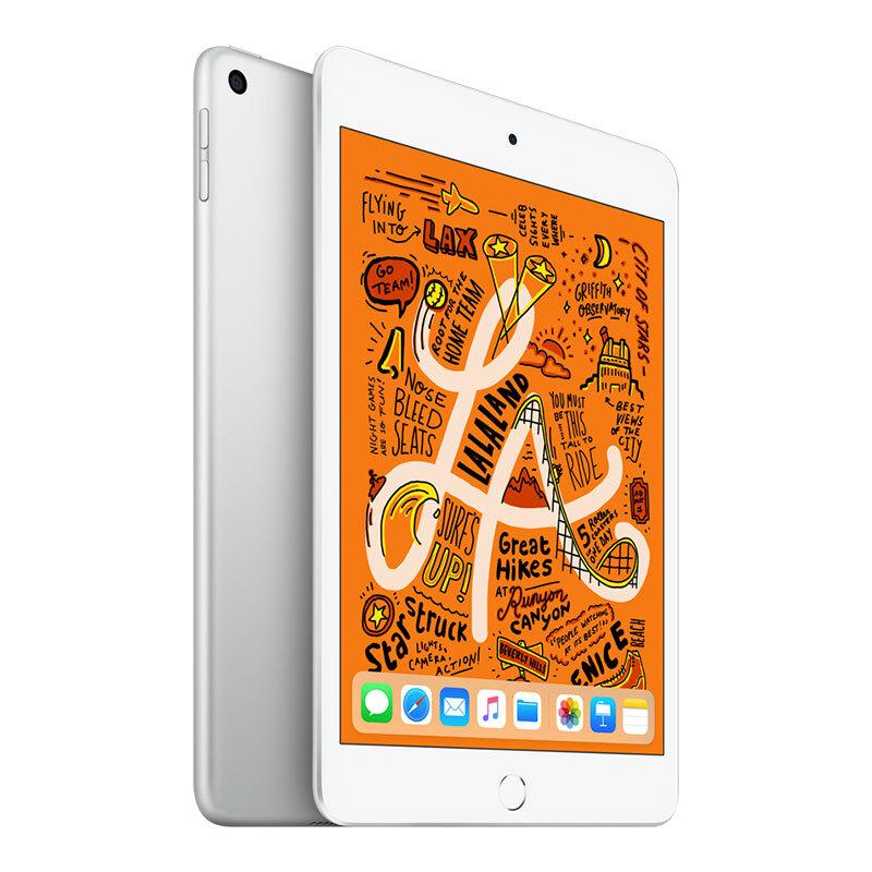 Apple iPad mini 2019年新款平板電腦 7.9英寸(64G WLAN版/A12芯片/Retina顯示屏/MUQX2CH/A)銀色