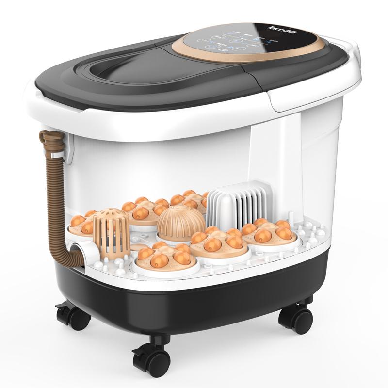 泰昌 TC-Z5211智能型足浴盆 电动转盘按摩全自动加热洗脚盆泡脚洗脚桶 白色