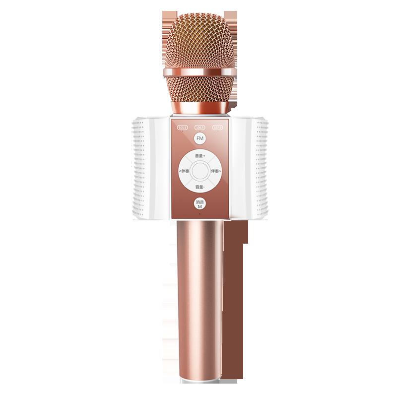 纽曼 MC18车载蓝牙麦克风手机k歌无线话筒音响一体家用电视全民唱歌