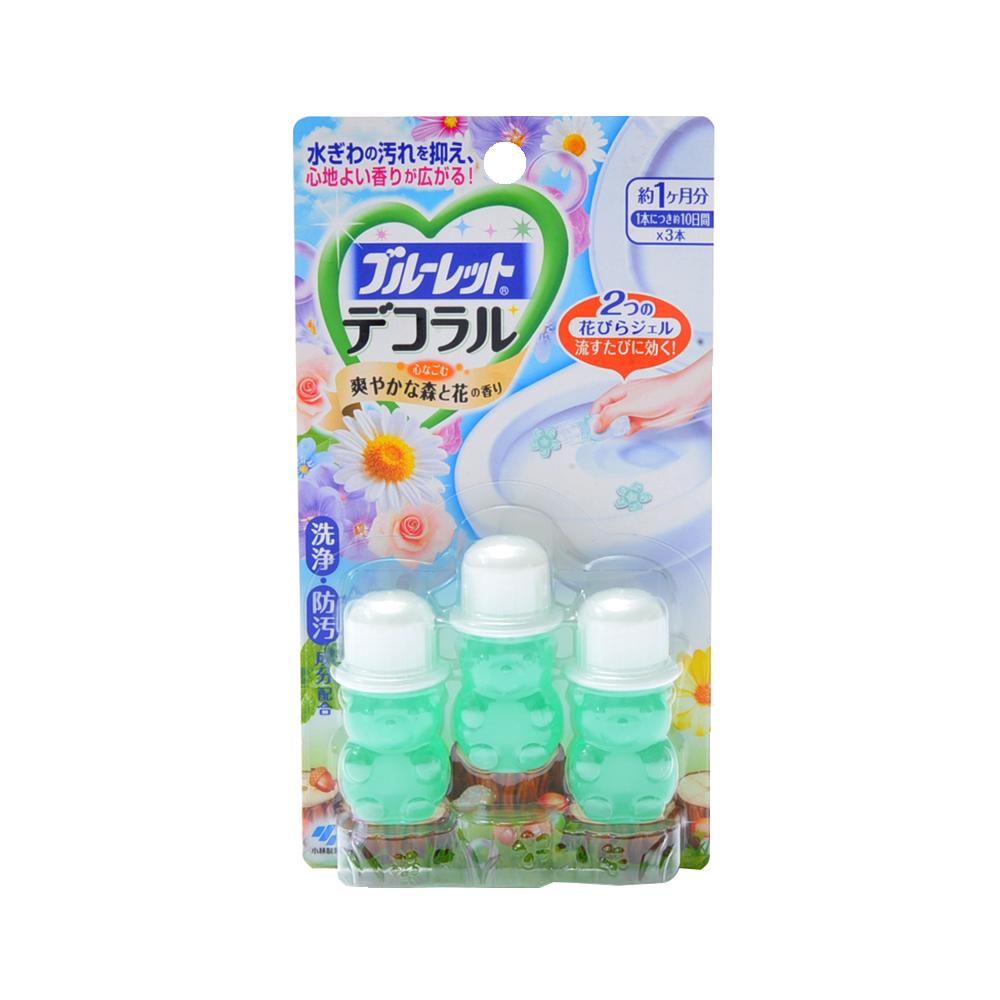 KOBAYASHI 小林制药 马桶消臭凝胶 清爽森林与花香型
