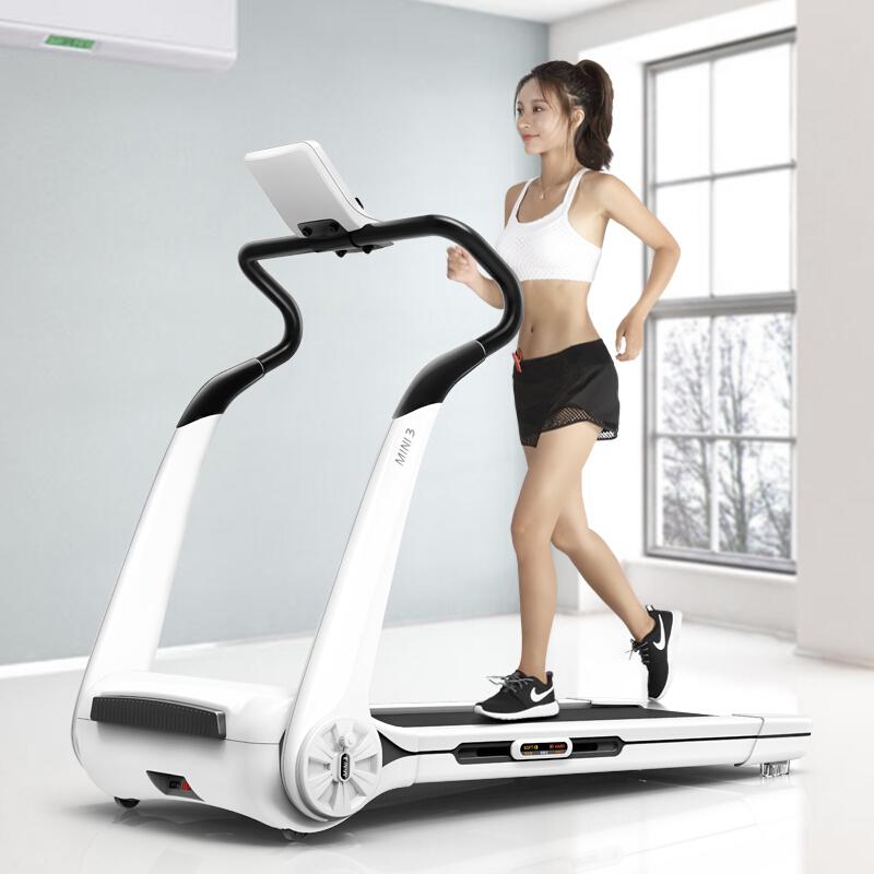 易跑MINI3跑步机 家用静音智能全折叠迷你健身器材 PLUS尊享款