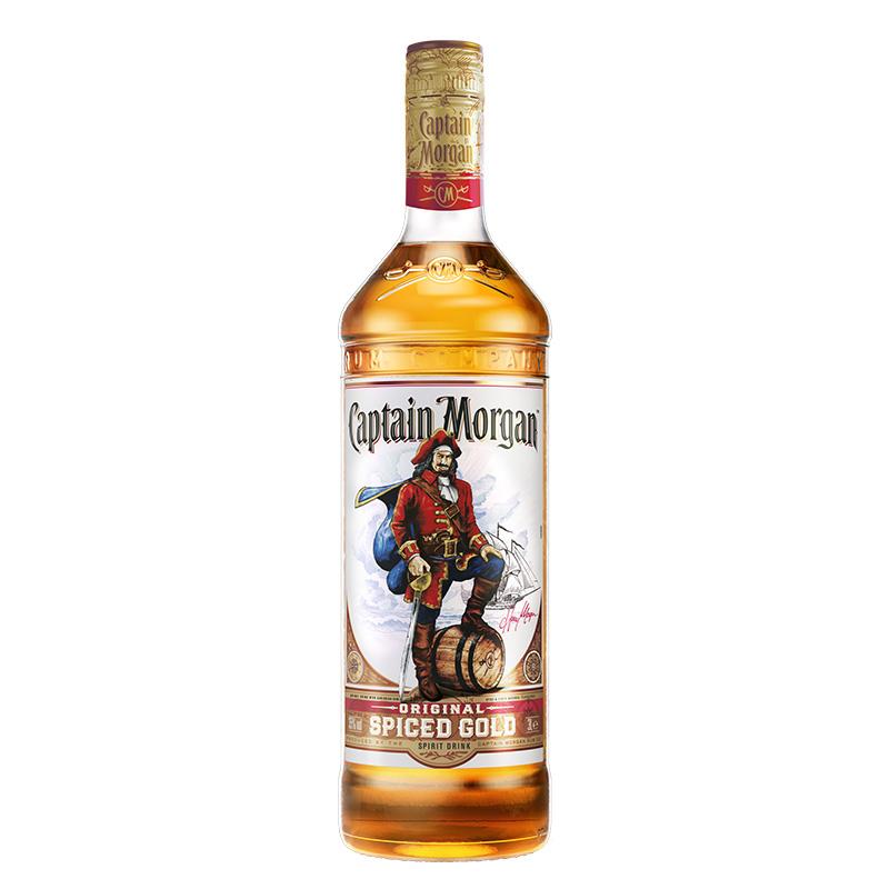 摩根船长原创金标配制酒700毫升