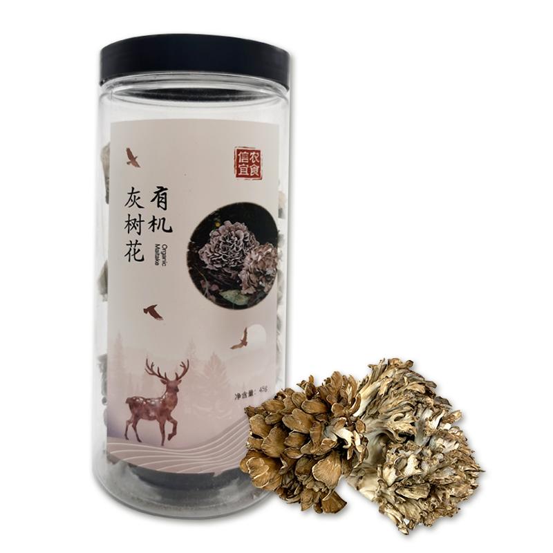 信農宜食 有機菌組合套裝 有機灰樹花45g,有機銀耳50g,有機茶樹菇70g