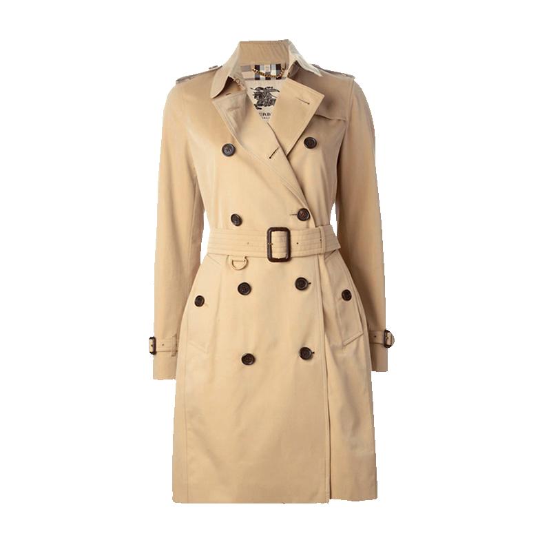 BURBERRY 巴宝莉女装 肯辛顿版型长款Trench风衣外套 3900458 2