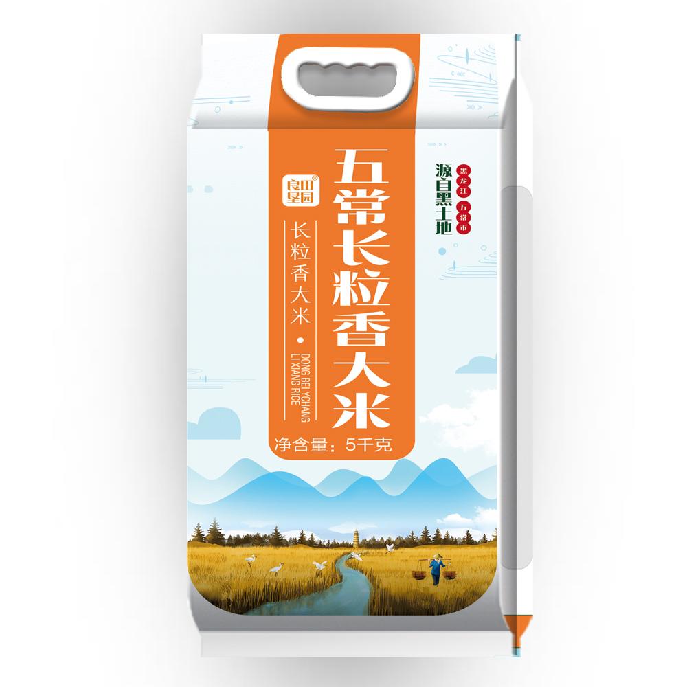 良田垦园 五常长粒香大米5kg