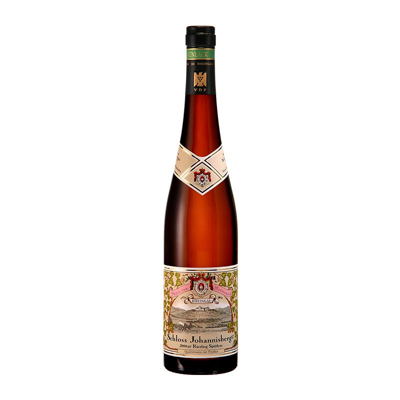 德国约翰山迟摘甜白(绿标)葡萄酒 单支 750ml