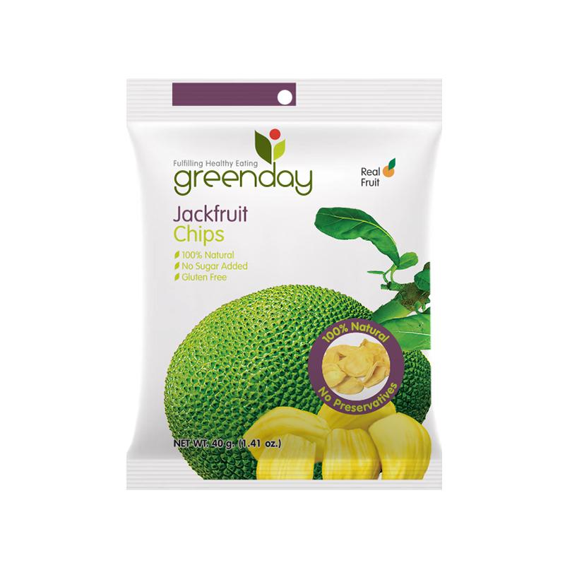 泰國原裝進口Greenday Jackfruit Chips菠蘿蜜片*3包