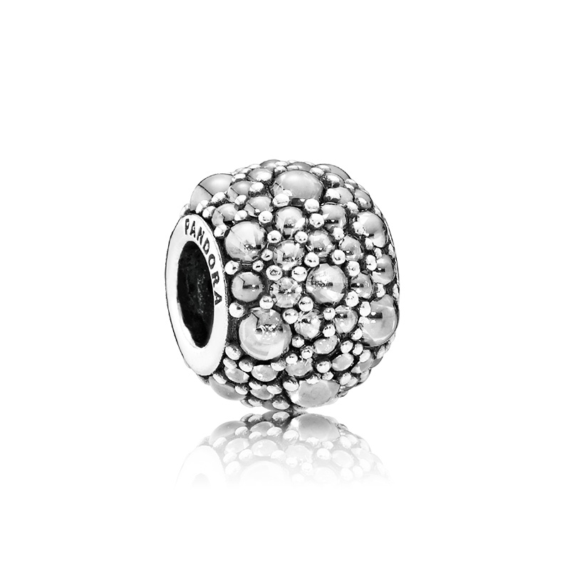 PANDORA/潘多拉 925银 闪烁水滴串珠 791755CZ