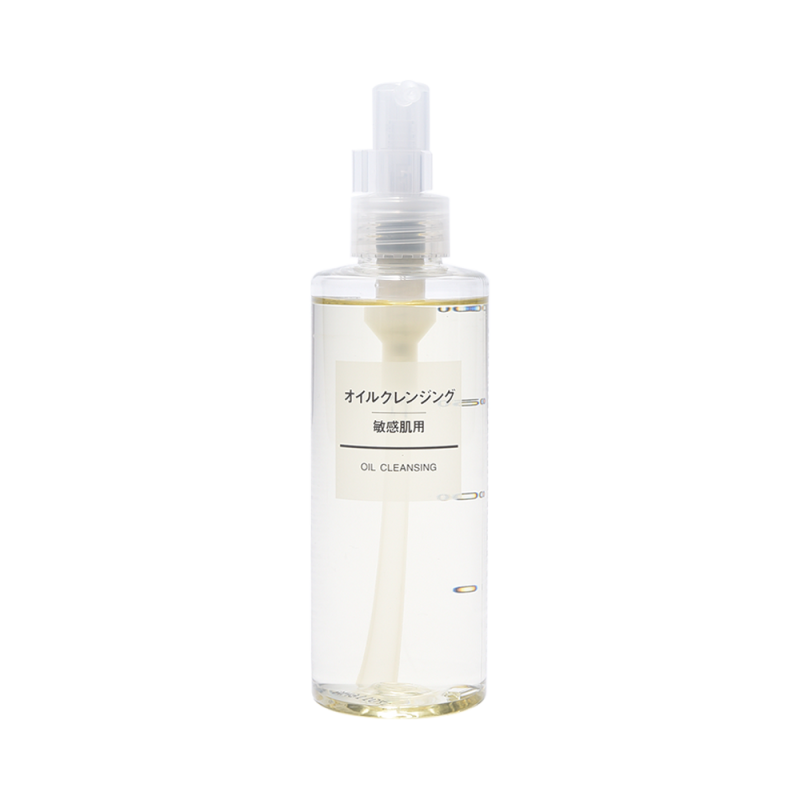 MUJI 无印良品 敏感肌肤用卸妆洁面油 200ml