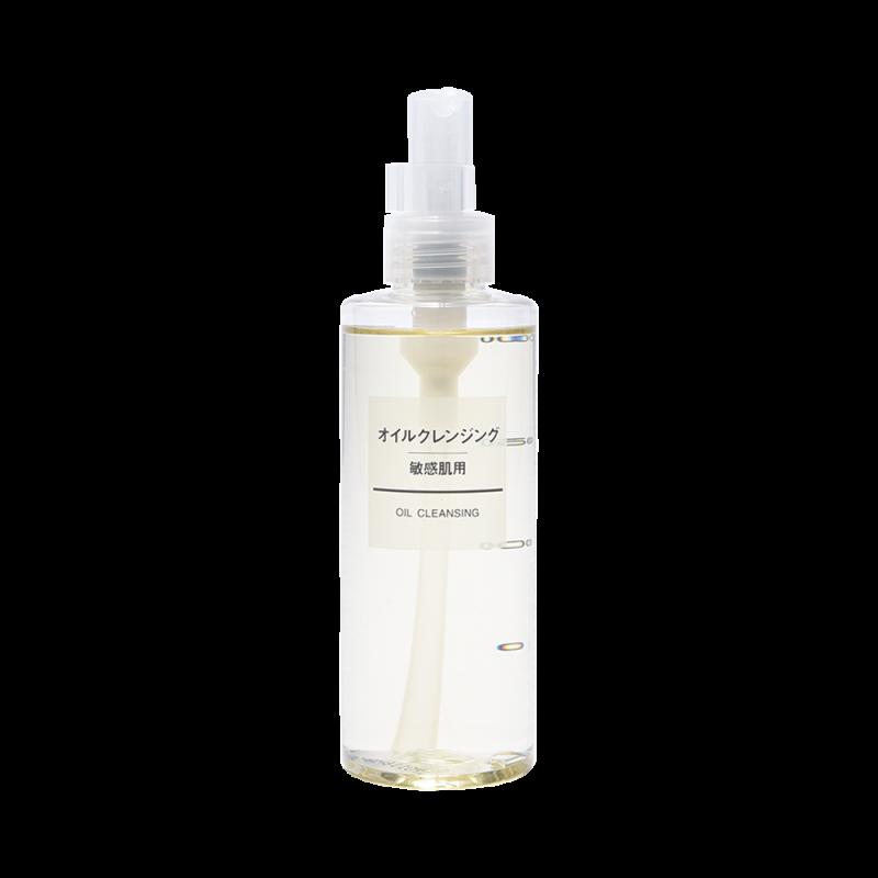 MUJI 無印良品 敏感肌膚用卸妝潔面油 200ml