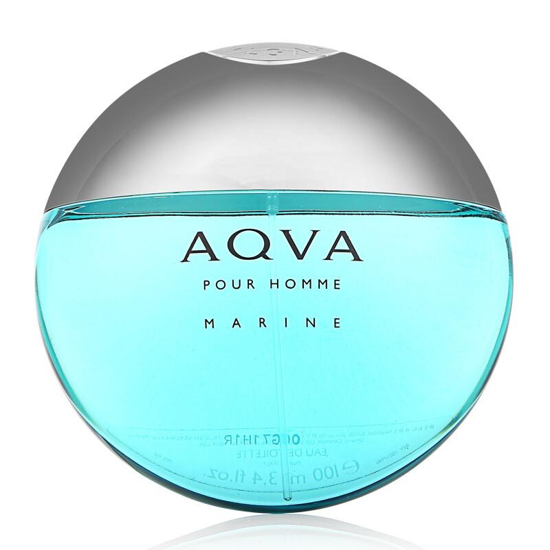 宝格丽(BVLGARI)海蓝男士淡香水100ml(海洋能量 香水男士)持久淡香氛 清新优雅