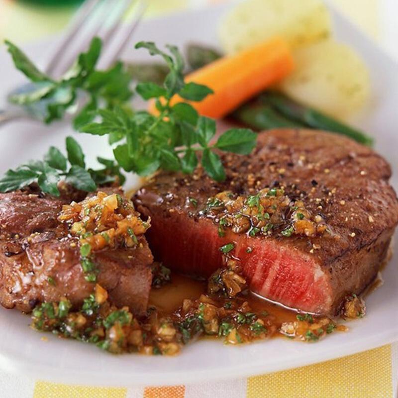 恒都 菲力+西冷调理牛排套餐 1.5kg/套(10片)  谷饲牛肉 生鲜
