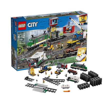 乐高积木城市系列city男孩子拼装玩具警察车消防总局飞机2019新品